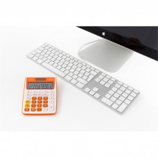 Calculatrice de bureau Double alimentation Orange
